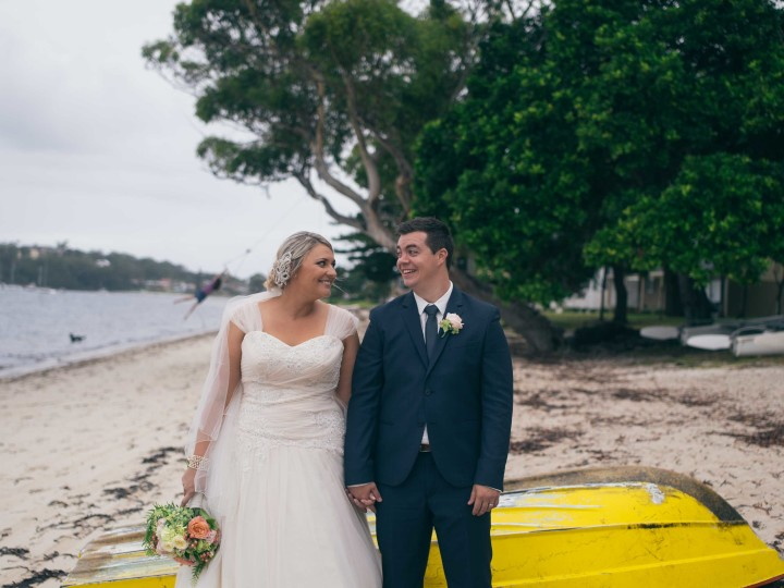 Garrett + Jessica | 27/02/2016 | Soldiers Point, Port Stephens, NSW
