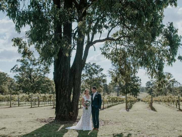 Sam + Erin | 01/04/2017 | Pokolbin, Hunter Valley, NSW